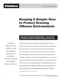 BakBone Simplifying VMware Data Protection Whitepaper