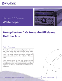 NexSan - Deduplication_10min_whitepaper