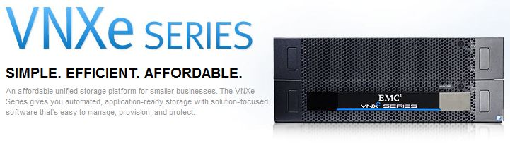 EMC VNXe Simple Affordable